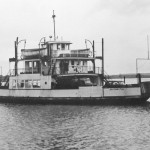 Black and White Photograph of the Algoming Ferry